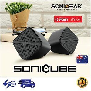 Wired-Mini-Speaker-Portable-USB-Powered-6W-SONICGEAR-SonicCube-2-0