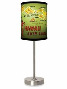 Hawaii table lamp vintage style office home dorm desk lamps hula image is loading hawaii table lamp vintage style office home dorm mozeypictures Images