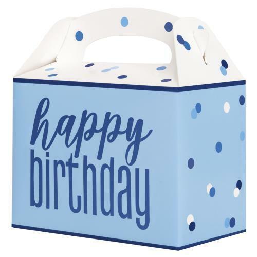 *NEW BLUE GLITZ* Age 13 Party Supplies Decorations Happy 13th Birthday