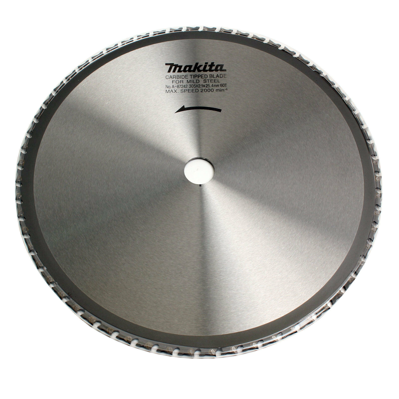 Makita A-87242 Tipped Saw Blade For Mild Steel 60T 12inch 305mm