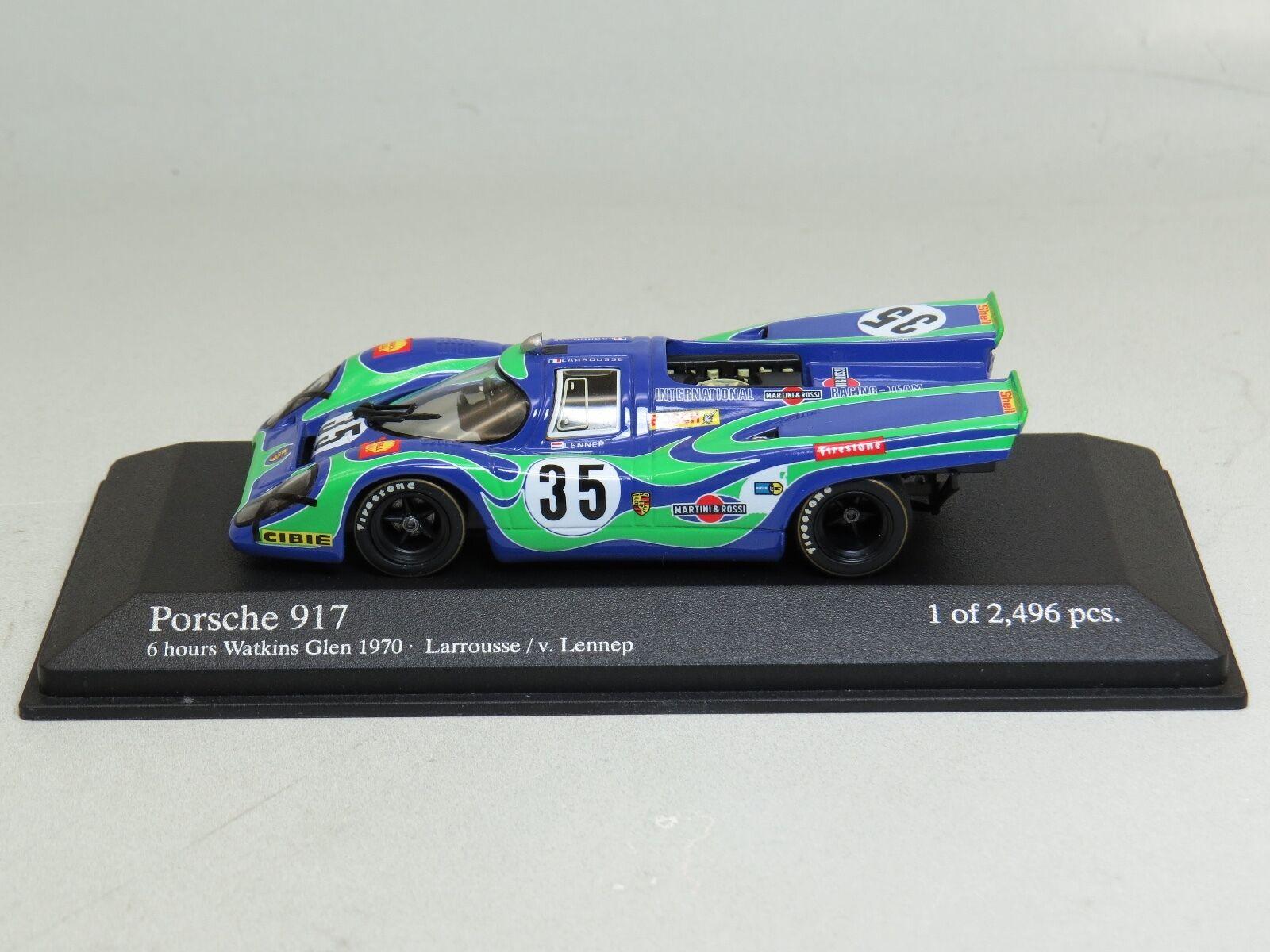 Porsche 917 6hrs Martini Racing Larrousse Van Lennep Minichamps 430706735 1 43
