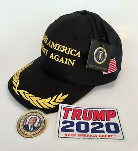 President-Donald-Trump-Cap-Make-America-Great-Again-Black-Gold-2-Decals