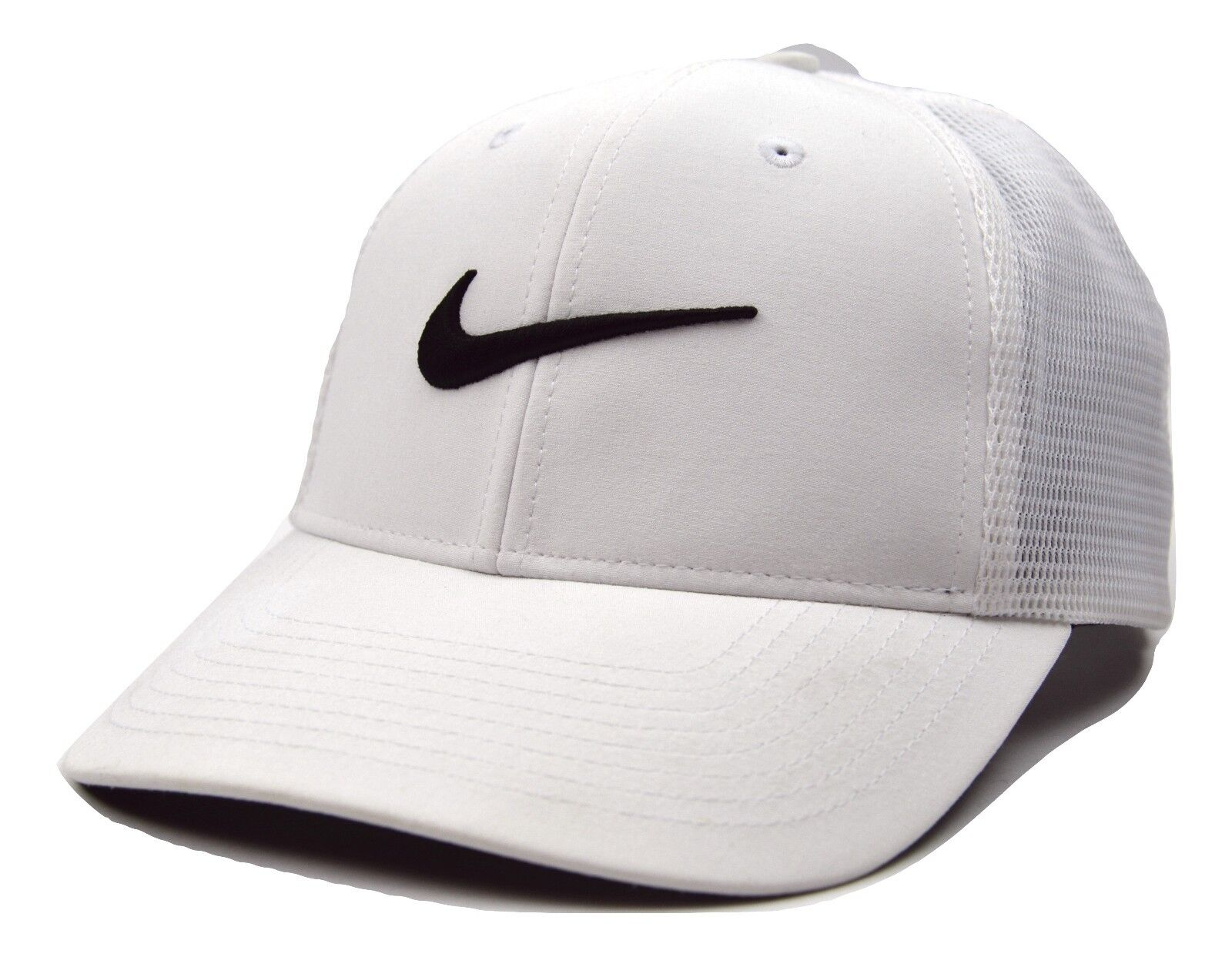 529d066b Nike Golf Legacy 91 Tour Mesh Adult Mens Stretch L/xl Hat White ...