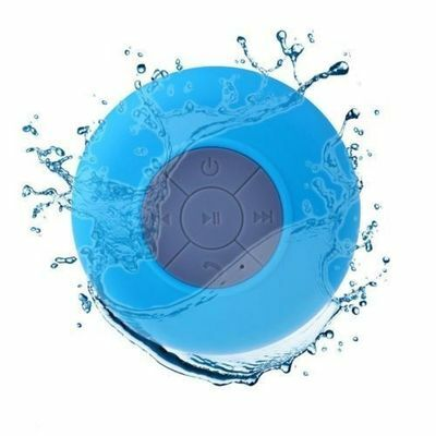 Portable New Bluetooth Speaker Subwoofer Shower Waterproof