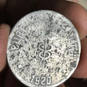PHILIPPINES 1920 ONE PESO CULION LEPER COLONY COIN KM-12 #1008