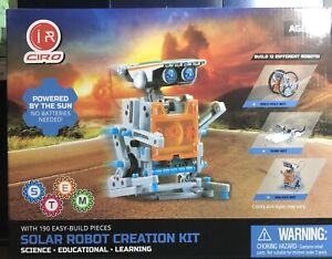 Ciro R215 Solar Robot Creation Kit 12-In-1 Robot Kit For ...
