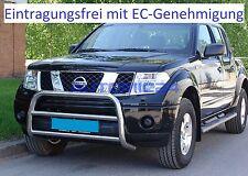 Frontbügel Bullenfänger Frontschutzbügel Rammschutz Nissan Pathfinder Zulassung
