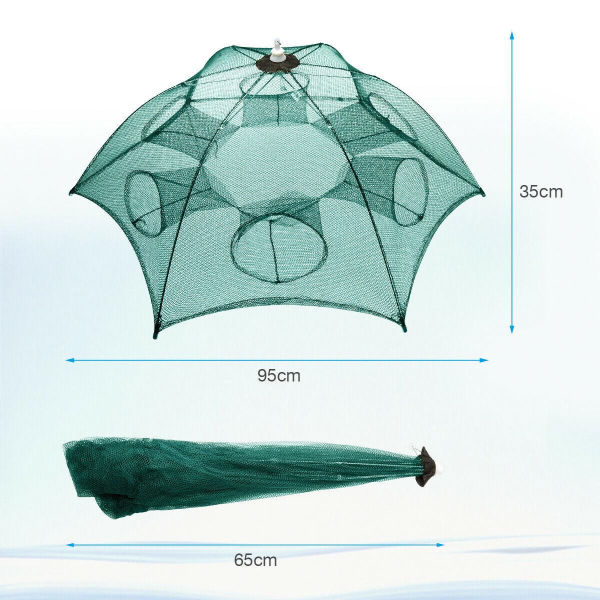 Foldable Crab Net Cast Minnow