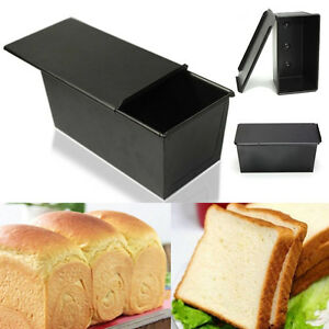 Nonstick-Rectangle-Bakeware-Box-Large-Loaf-Tin-Kitchen-Pastry-Bread-Cake-Baking