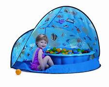 Paradiso Toys Sun&Fun Box 3tlg. Spieleset, Bällebad, Spielzelt, Strandmuschel