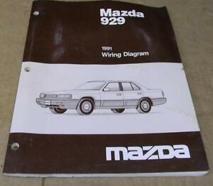 image is loading mazda-1991-mazda-929-wiring-diagram-manual
