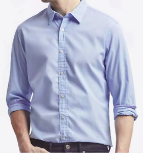 $95 CLUB ROOM Men REGULAR-FIT WHITE LONG-SLEEVE BUTTON-DOWN DRESS SHIRT 16 34//35
