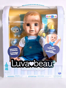 Luvabeau Baby Doll Blonde Hair Luvabella Boy Doll Interactive