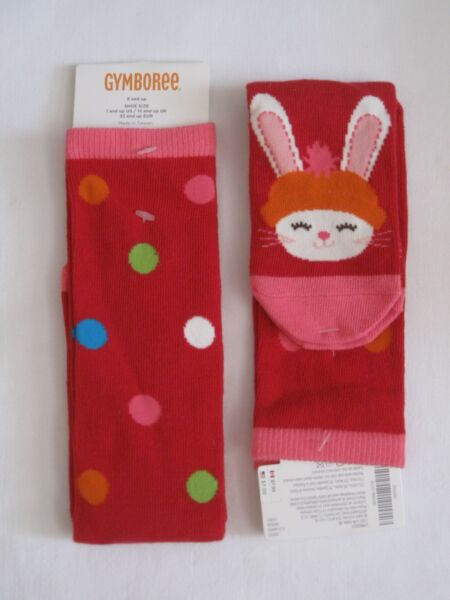b7f1afb18 NWT New Gymboree Knee High Girls WHITE Socks Shoe Size 3 4 5 NEW. Hover to  zoom