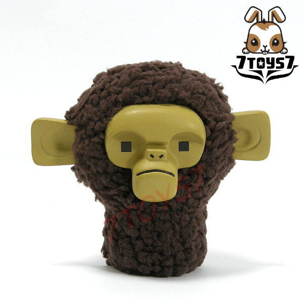 ACI Toys x Jason Siu 1 6 Primates in concrete jungle_ Monkey Head _Brad N AT040F