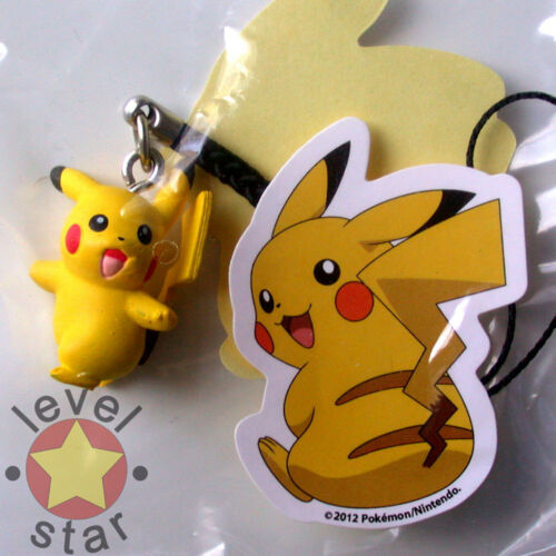 Pokemon PHONE CHARMS Official TOMY Figure GACHA Danglers Toys with Stickers