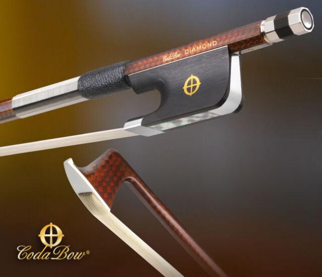 CodaBow Diamond GX Carbon Fiber 4/4 Cello Bow