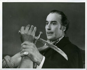 CHRISTOPHER LEE SCARS OF DRACULA ORIGINAL VINTAGE 8X10 ...