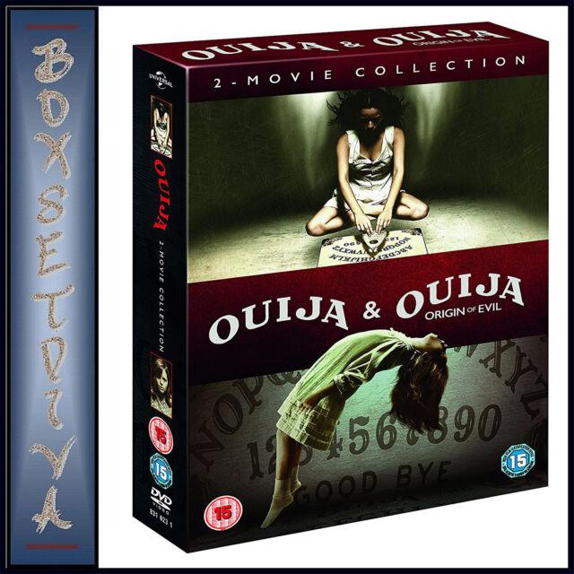 OUIJA & OUIJA ORIGIN OF EVIL - 2 MOVIE COLLECTION **BRAND NEW DVD BOXSET***
