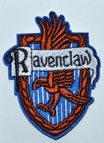 100x Harry House Ravenclaw embroidered Potter Iron on Patch Crest Badge