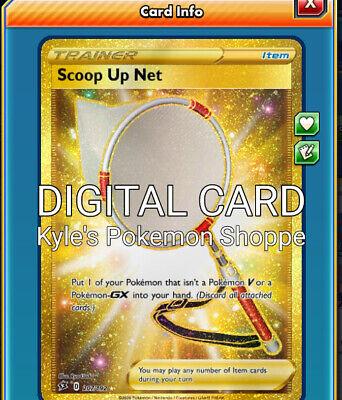 SR Super Scoop Up for Pokemon TCG Online Secret Rare ptcgo in Game Card