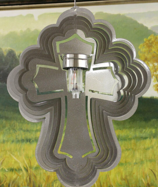 Stainless Steel BUTTERFLY SOLAR WIND SPINNER Raspberry LIFETIME RUST WARRANTY