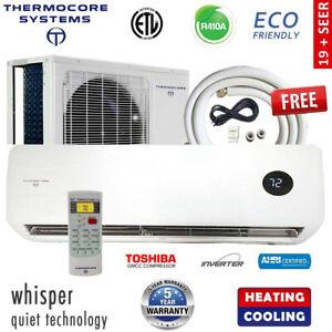 Ductless-Mini-Split-Air-Conditioner-Inverter-Heat-Pump-17-19-SEER-w-install-kit