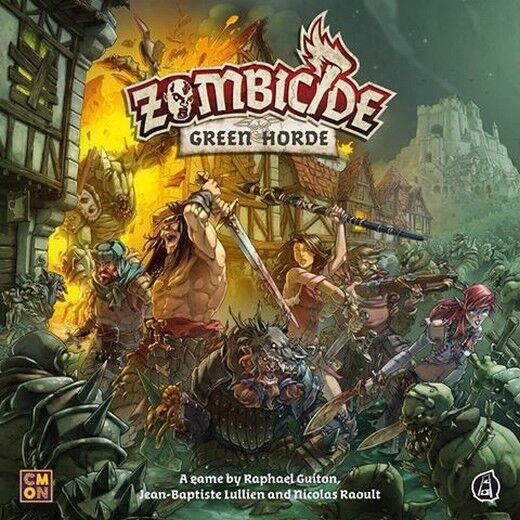 Le rythme cardiaque est pire que l'action! Zombicide Green Green Green Horde, Boardgame, New by CMON, English Edition 16c7e8