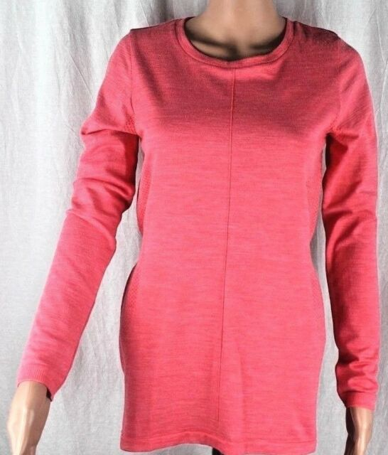 1d3accb32 The North Face Women's Dayspring Semless Wool Polo Long Sleeve Size L