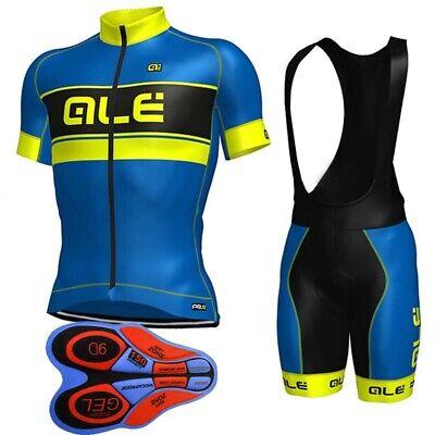 Bicycle 2019 Men Cycling Short Sleeve Clothing Jerseys MTB 9D Bib Shorts Set Y27
