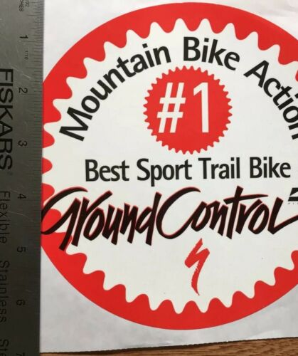 Specialized Contrôle au sol Mtn Vélo Action directe Sport Trail Bike-Autocollant Decal