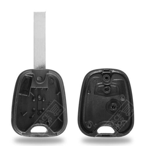Schlüsselhülle Gehäuse für Fernsteuerung Funkschlüssel System Toyota Aygo