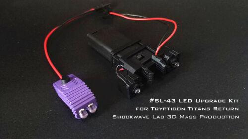 Shockwave Lab SL-43 LED Upgrade kit for Trypticon Titan returns,In stock!