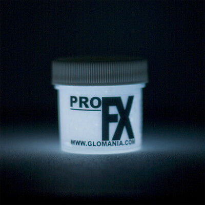 WHITE Glow in the Dark Paint 1-2oz pot, luminescent, star ceiling, cosmic paint