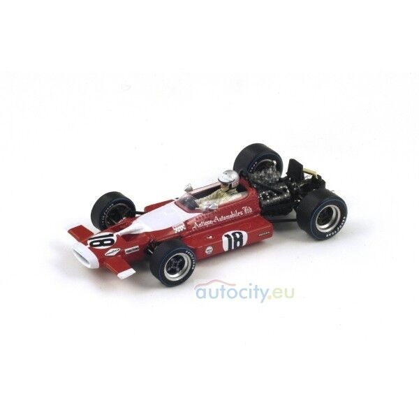 Spark Models MCLAREN M7B NO.18 DUTCH GP 1969 VIC ELFORD S3126