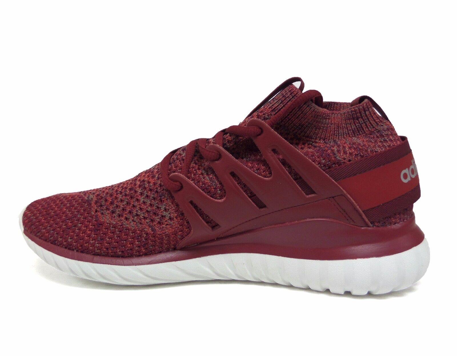 Adidas Originals Men's TUBULAR NOVA PRIMEKNIT Shoes Mystery Red BB8406 b