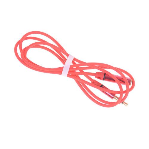 Rot3,5mm 4 Pole Male Female Kopfhörer Kopfhörer Verlängerungskabel Audio AdaptWQ