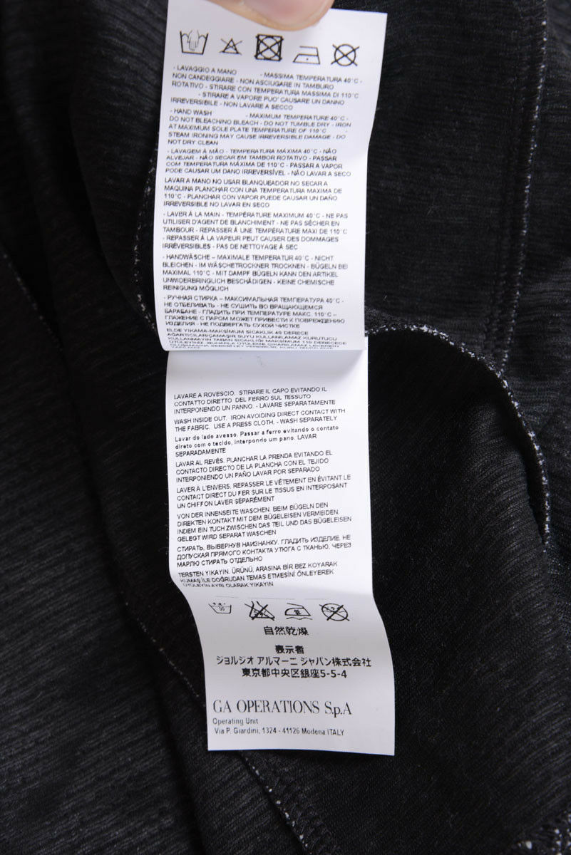 Vestito Armani Jeans AJ Dress women women women black 6X5A985JLRZ 2212 f85a61