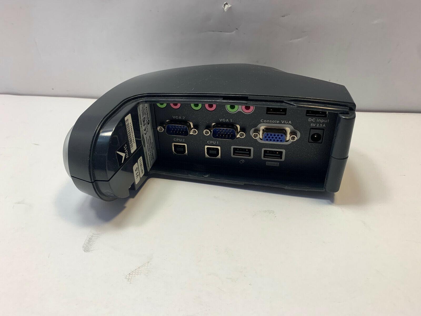 Belkin OmniView SOHO Series 2 Port KVM Switch F1DS102U P81215 V1.5 RoHS 5V 2.5A