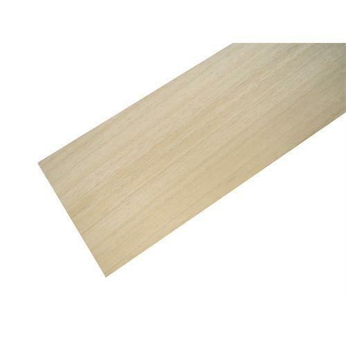 Pack of 5 Sheets BAS3X5 American Lime Bass Wood Panels 100mm x 457mm x 5mm