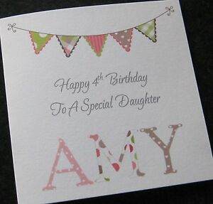 Birthday Card Girls Daughter Granddaughter Niece 11th 12th 13th 14th 15th 16th