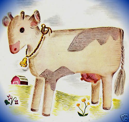 Vintage Crochet PATTERN to make Barnyard Horse Soft Toy Stuffed Animal BarnHorse