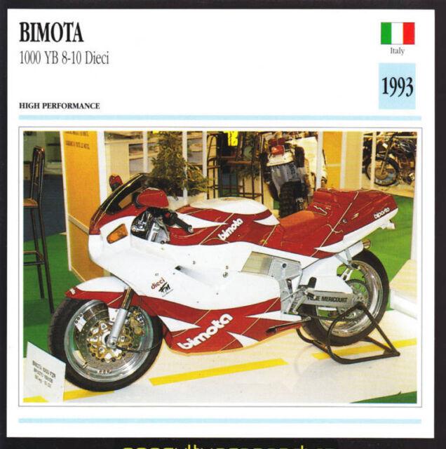 1991 Bimota YB-10 Dieci For Sale in Cali - Rare SportBikes