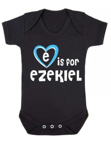 E est pour Ezekiel-Ezekiel BABY BODY//baby gilet//COMBI