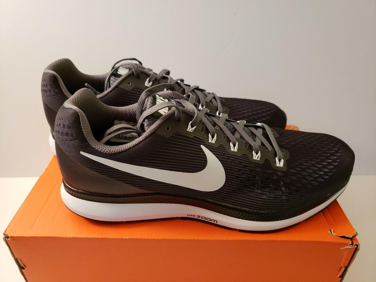 Nike Air Zoom Pegasus 34 TB Size 14 - 887009 001 Black Grey Men's Running shoes