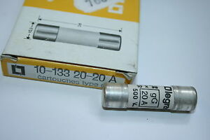 Legrand 133 20 20a Gg Fuse 10 X 38 20a 500v X1 Fbb22c Ebay