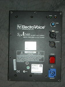 EV-Electro-Voice-SXA360-Speaker-Amp-Amplfier-Flat-Rate-Repair-Service