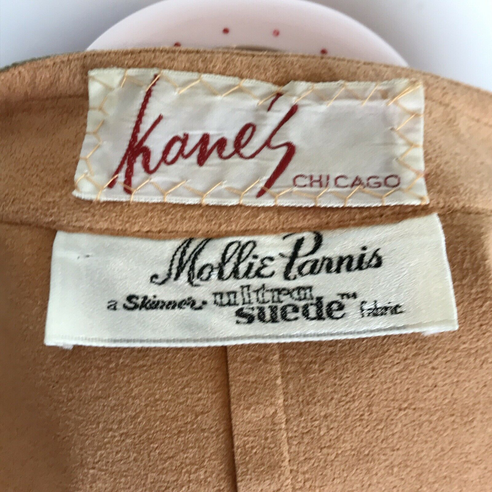 Vintage Retro 70s Mollie Parnis Ultra Suede Jacke… - image 2