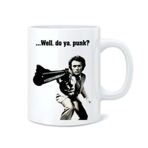 Clint Eastwood Gun Coffee Tea Mug Cup 11oz