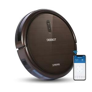 Ecovacs DEEBOT N79S Robotic Vacuum Cleaner (Black)